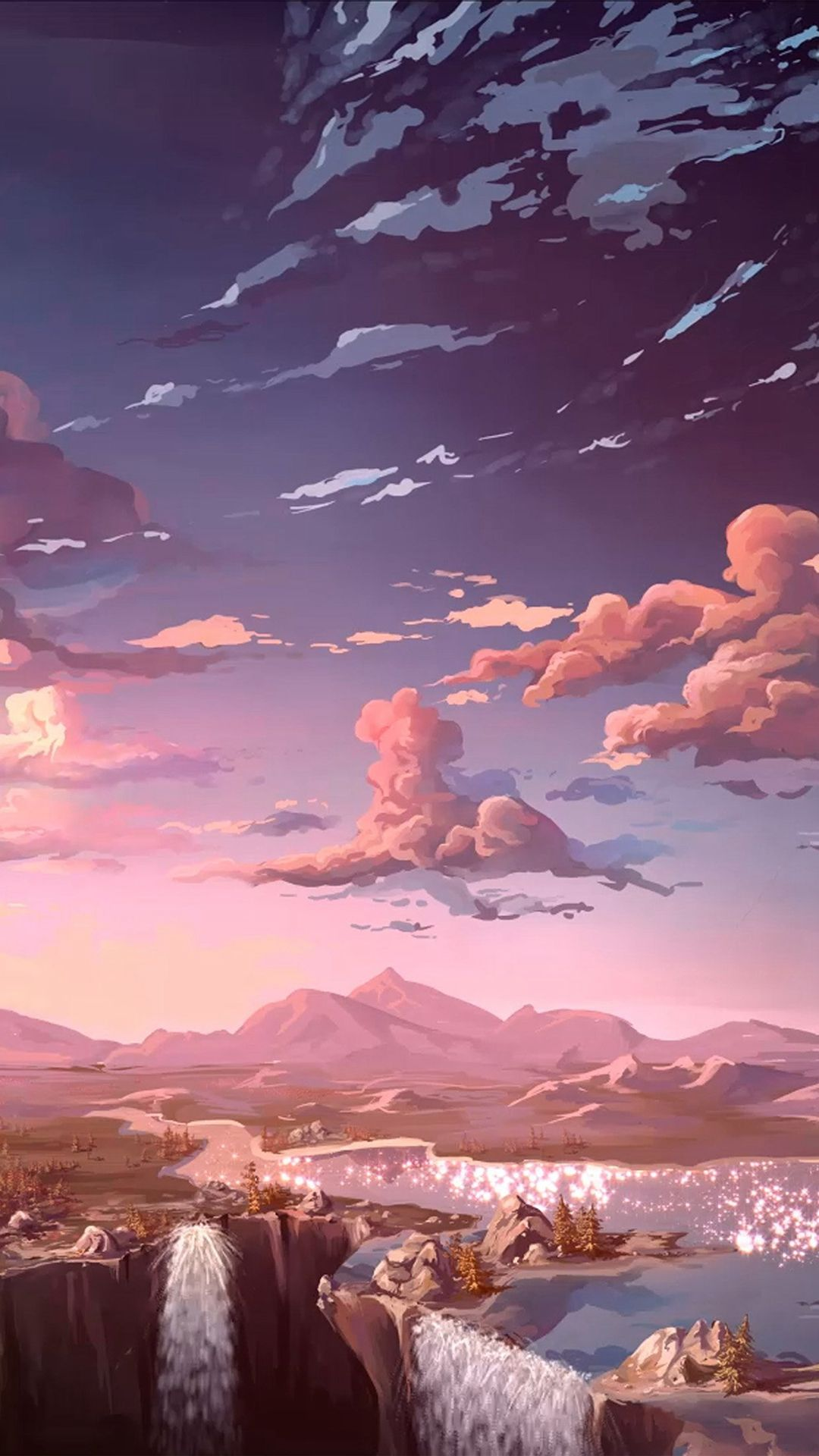 Digital Panting Concept Art Landscape Other Planet Future Surreal Mystic Fantasy Anime Scenery Wallpaper Landscape Wallpaper Scenery Wallpaper