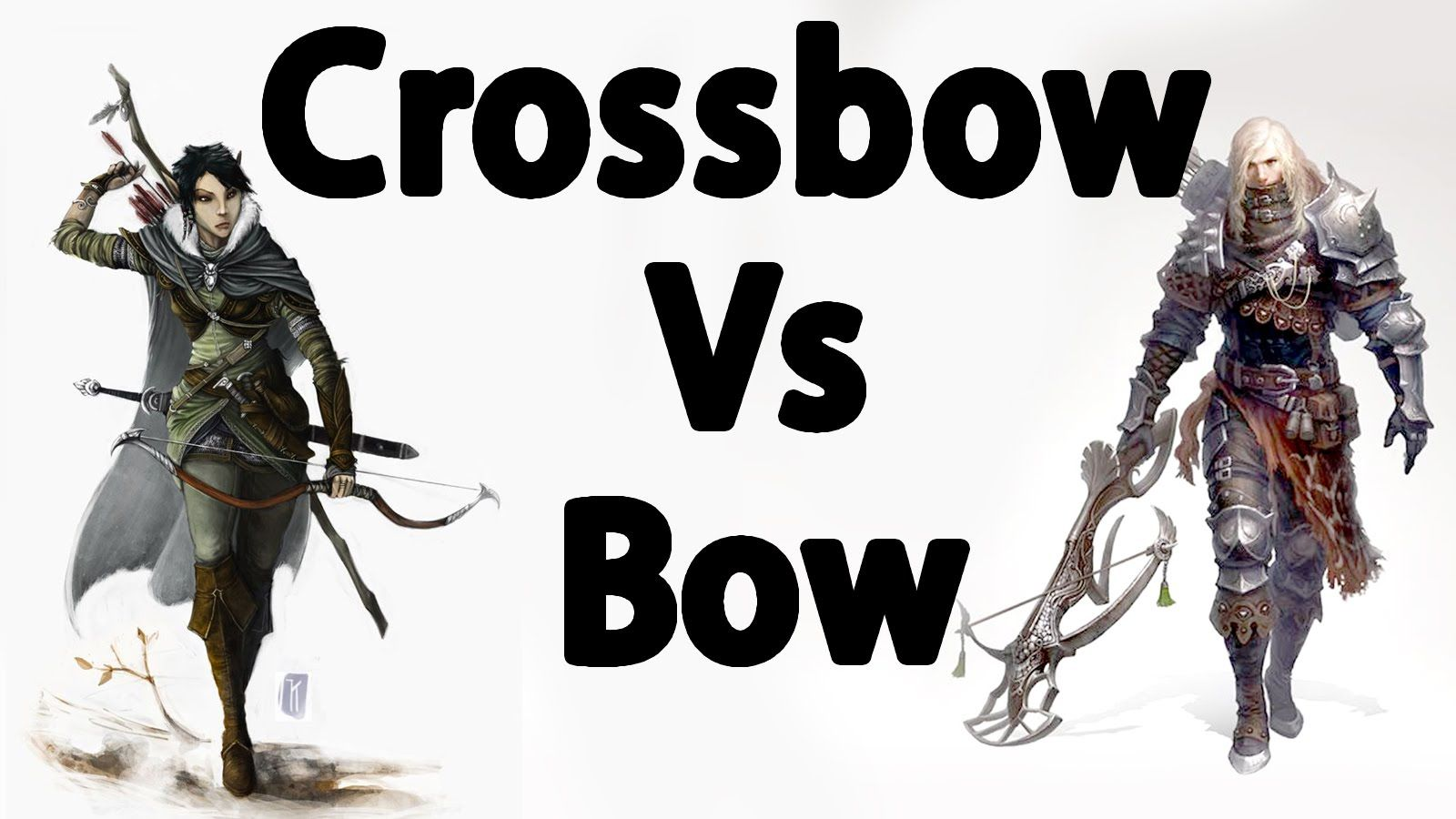 Skyrim : The Best Bow VS Crossbows | Video games | Skyrim