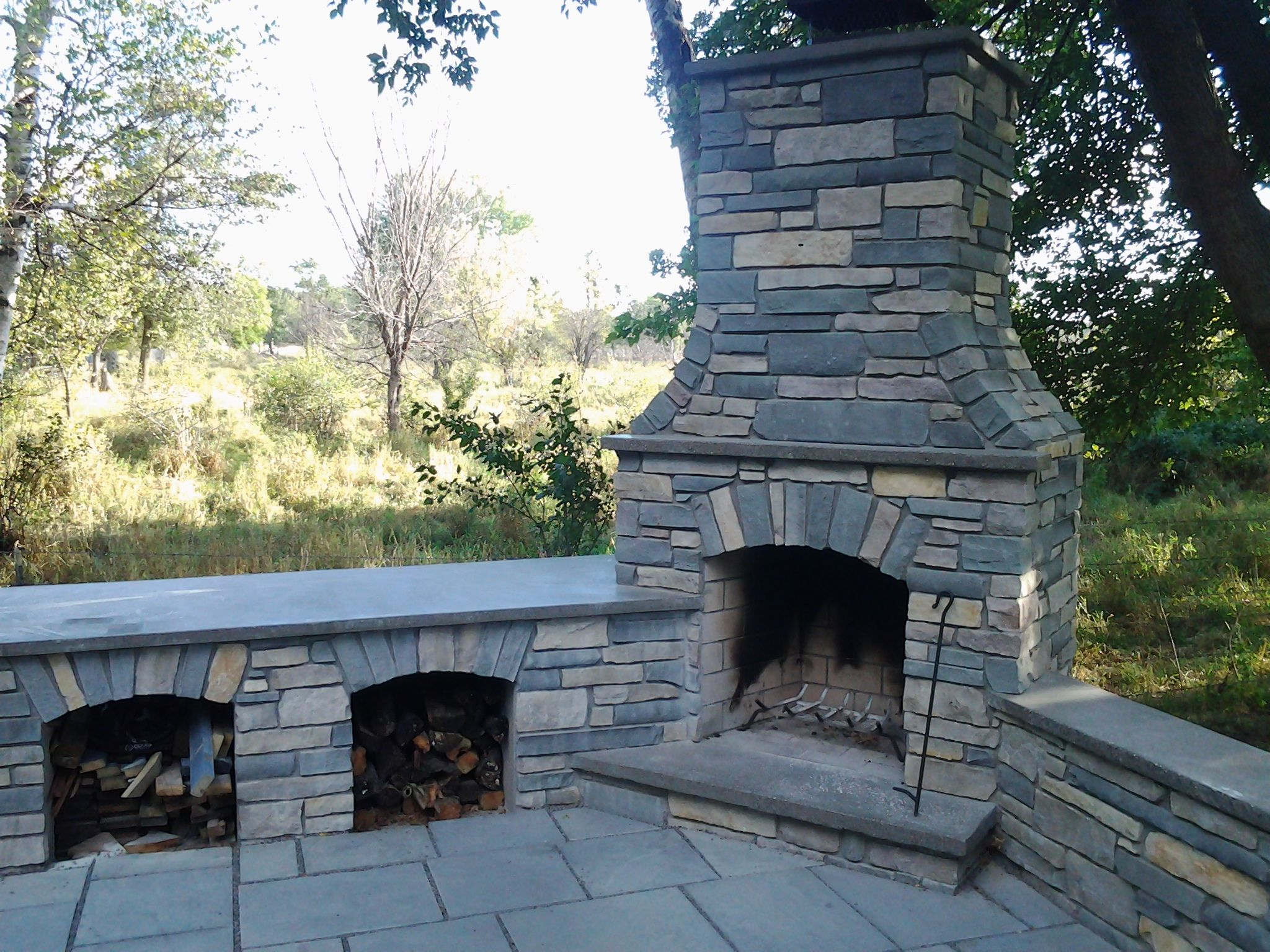 andover mn outdoor fireplace outdoor brick fireplace pinterest