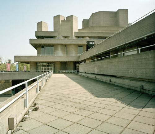 The National Theatre, London.