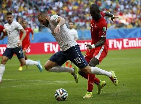 Copa 2014: Suíça 2 x 5 França - Terra Brasil