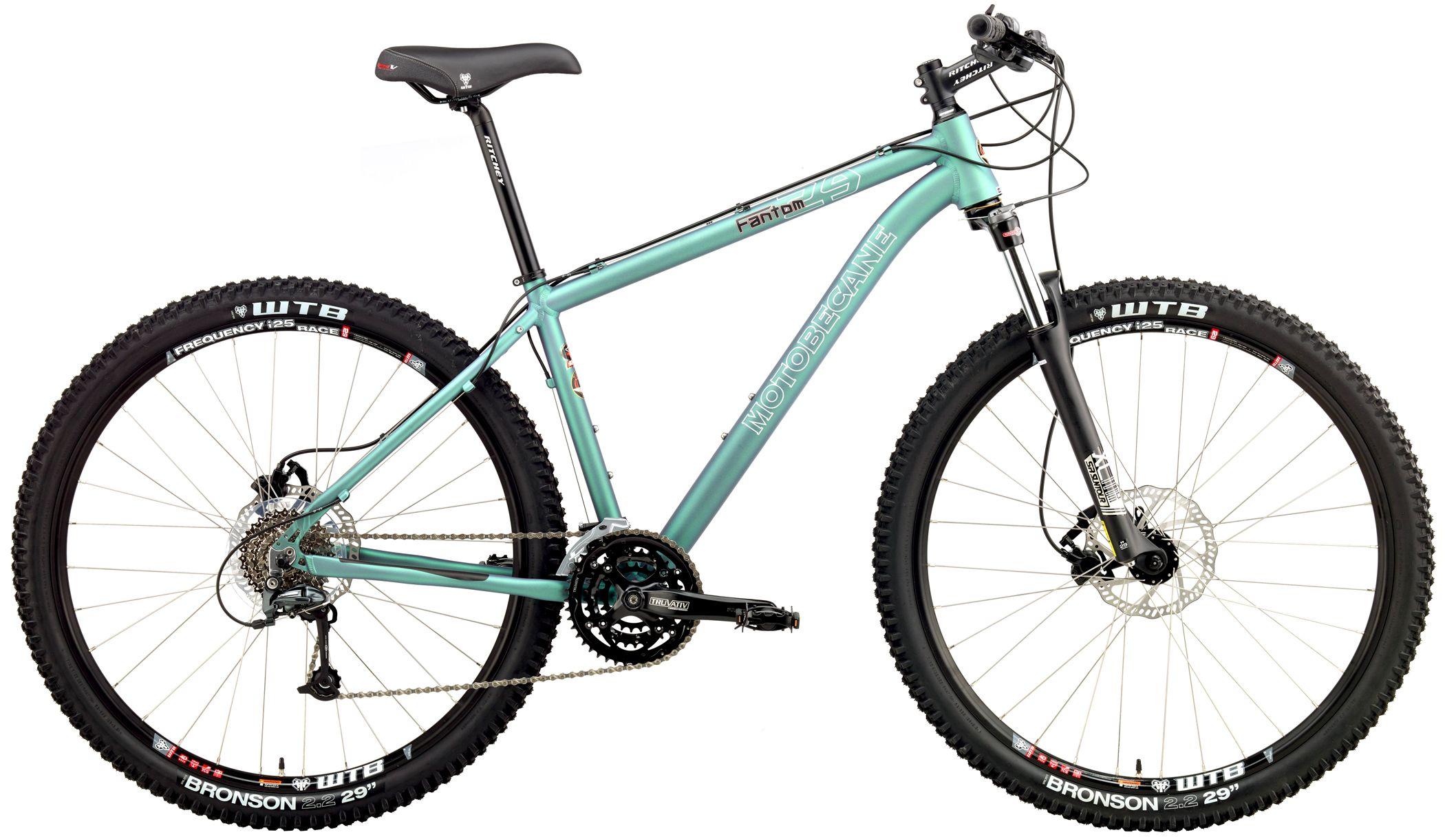 Mountain Bikes - MTB - Motobecane Fantom 2729DS Disc brakes, Tubeless Compatible Rims