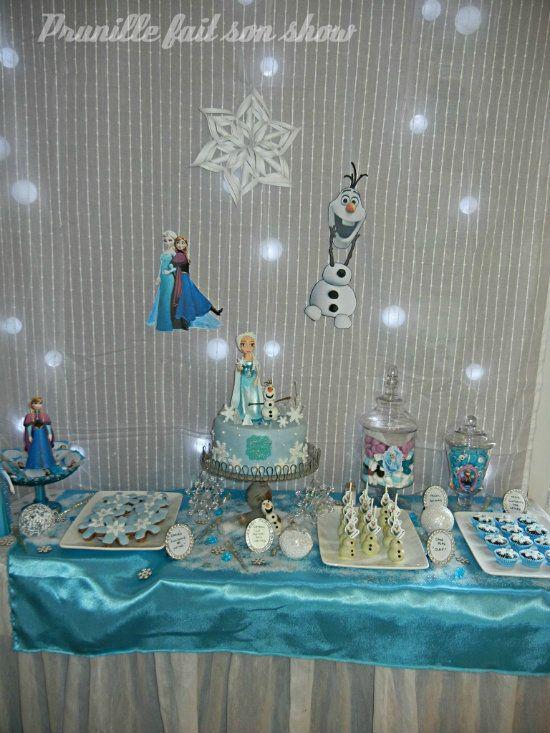 F te d 39 anniversaire party reine des neiges frozen f te reine des neiges jeux reine des - Jeux princesse des neiges ...
