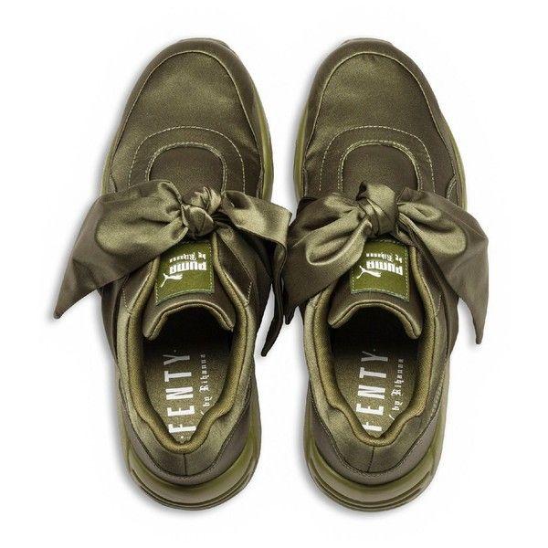 competitive price bcda2 a8683 Fenty Puma x Rihanna Women's Satin Bow Sneakers ($160 ...