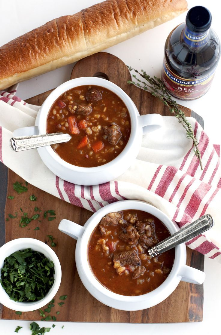 AD: This Slow Cooker Beef and Barley Soup is an easy slow cooker meal that is packed with flavor and meaty goodness. It's just the soup recipe to make when temperatures drop.