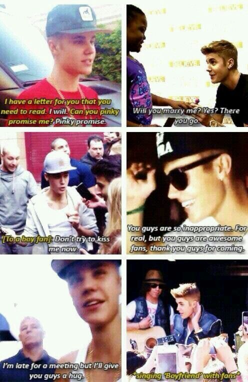 #Jelieber he is the best idol out there. You just try to find a better idol. He so cares about his fans.