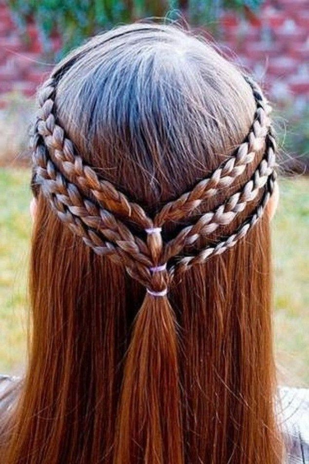 Easy Braided Hairstyles Tumblr Easy Wedding Hairstyles Hair Styles Halloween Hair Cool Hairstyles For Girls