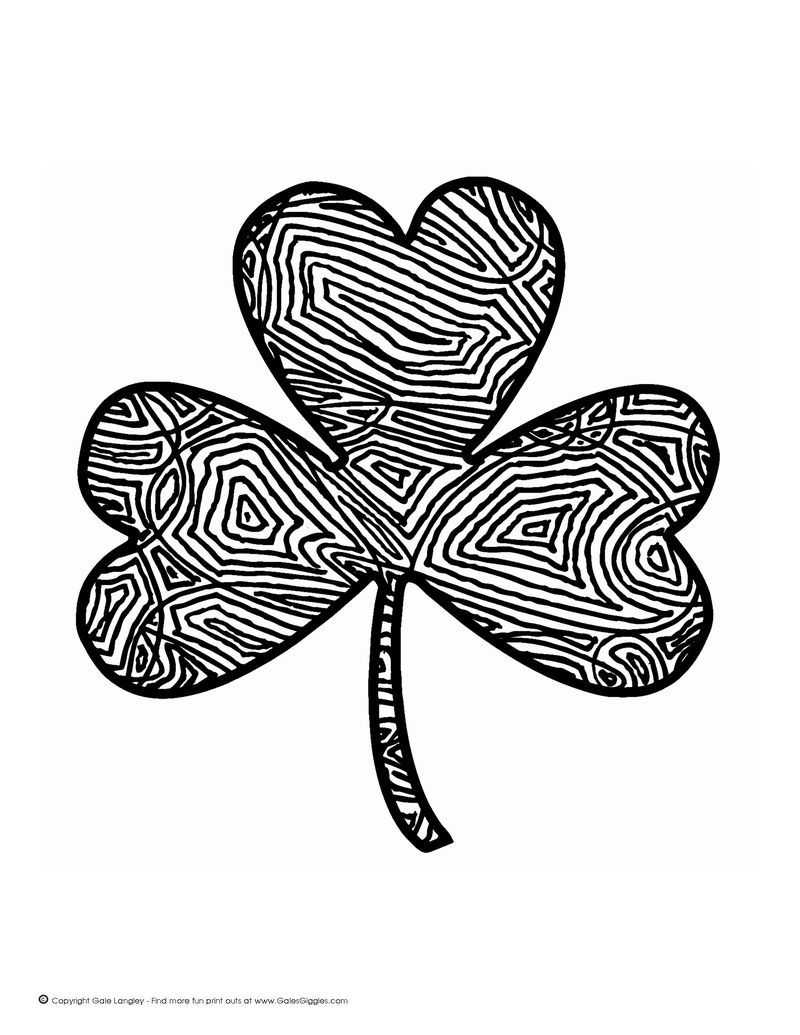 Crayola Shamrock Coloring Pages Free In 2020 Coloring Pages Coloring Pages For Kids Free Coloring Pages