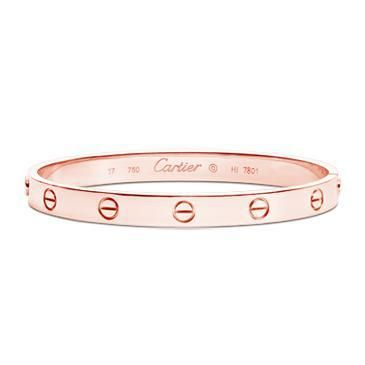 Love Bracelet Rose Gold Cartier Labelcrush