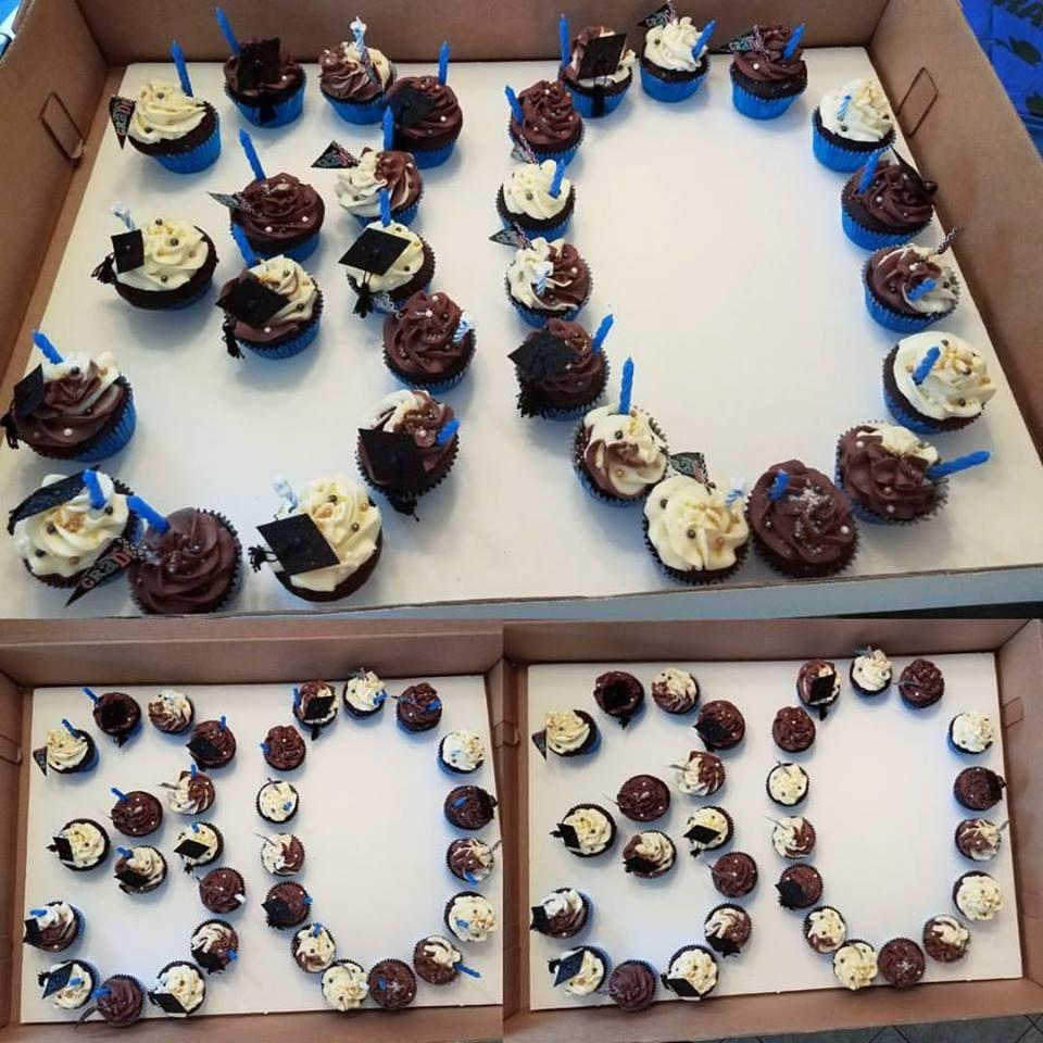 30 Number Pull Apart Cupcake Cake #fourcornersfromj