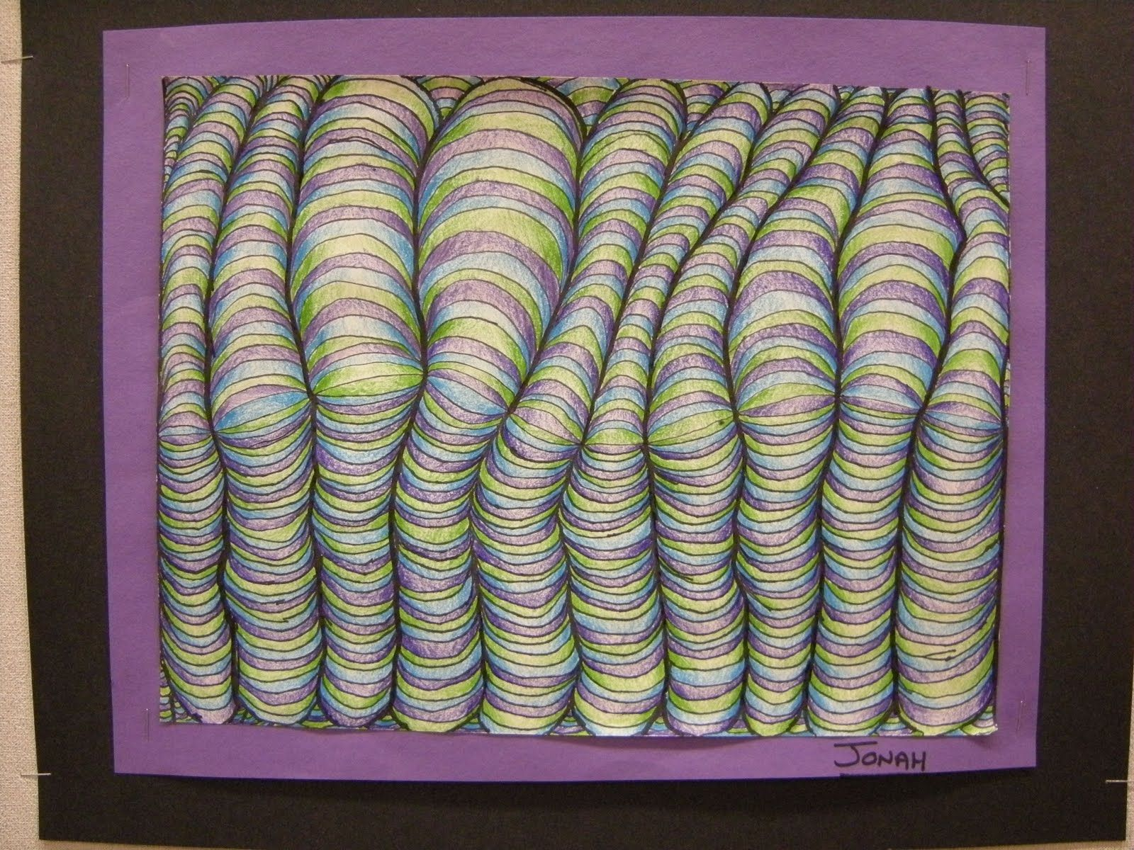 Curved Line Design Art : Pin by joe stewart on curved lines illusion art