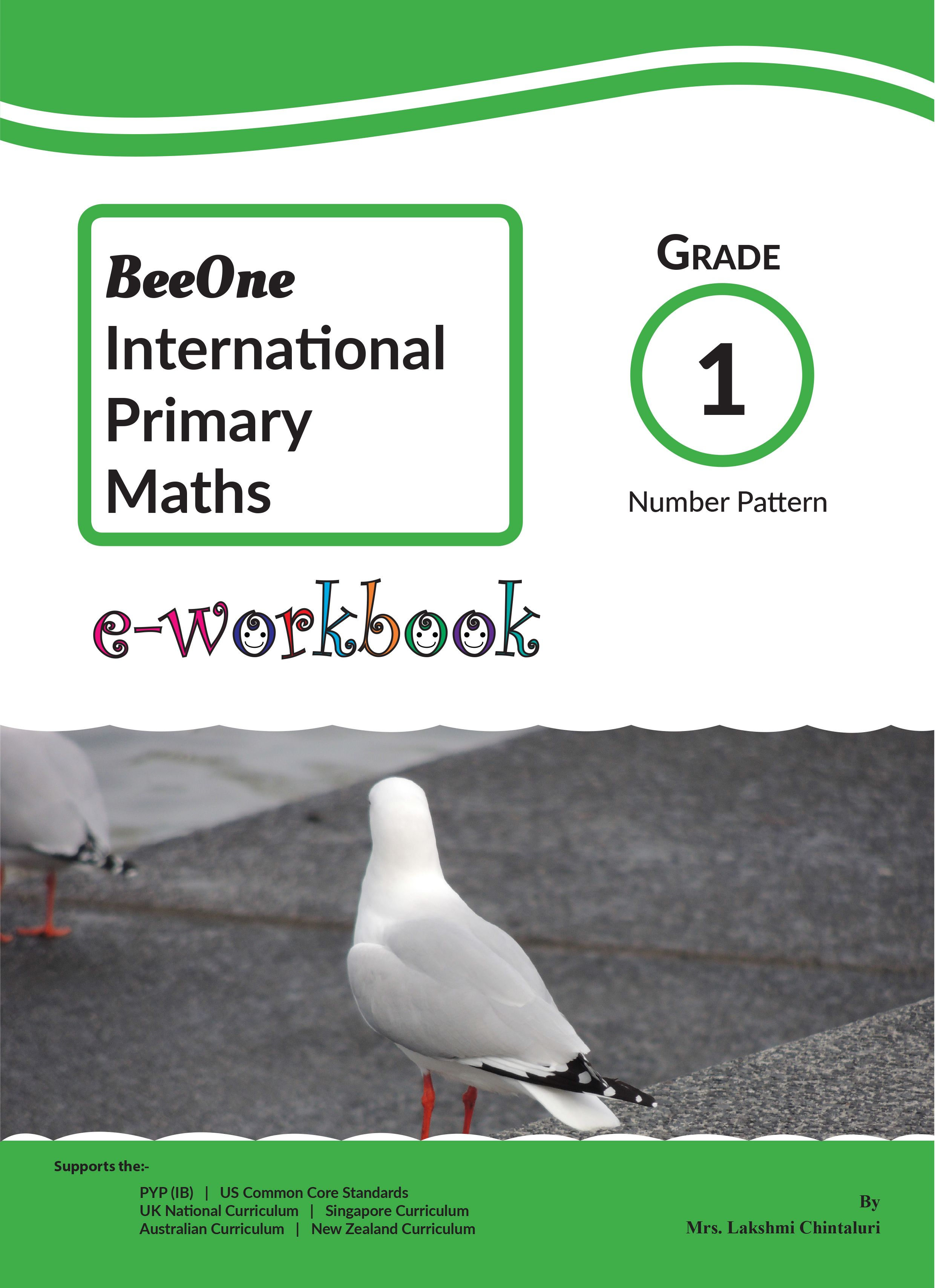 Number Pattern E Workbook For 1