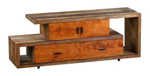 peroba wood furniture. Peroba Wood Media Console By Landrino Furniture