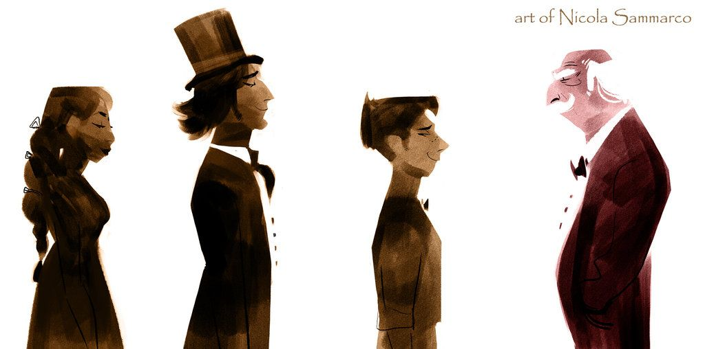 concept cast around the world in 80 days by nicolasammarco concept