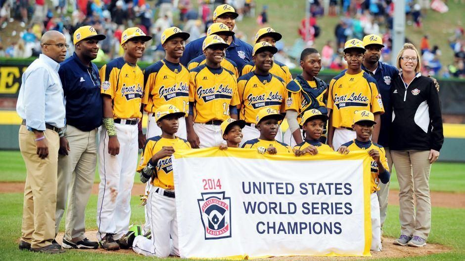 Llws Chicago S Jackie Robinson West Tops Las Vegas For U S Title With Images Jackie Robinson I Love Being Black Little League