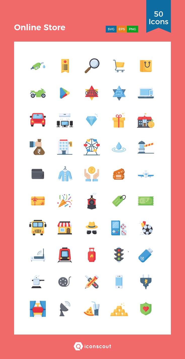 Download Online Store Icon Pack Available In Svg Png Eps Ai Icon Fonts Icon Pack Icon Font Icon