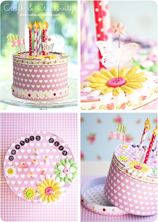 How To Make A Paper Cake By Craft Creativity Misc Craftiness