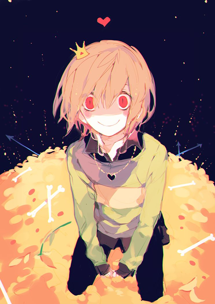 view and download this 744x1052 chara undertale mobile wallpaper