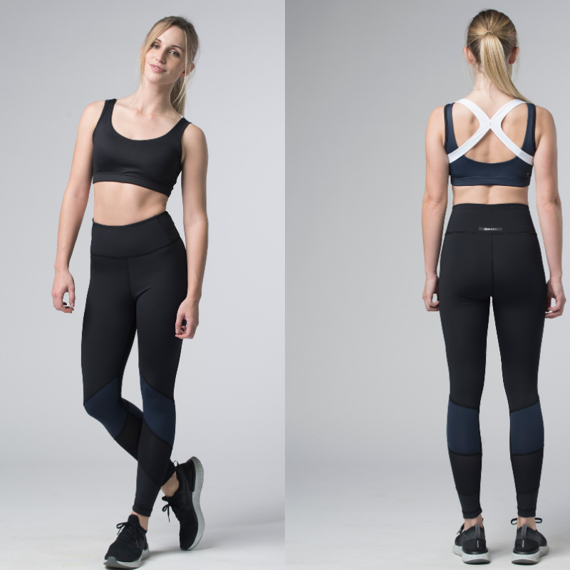 Black/Navy/White (With images) Athletic outfits, Sport