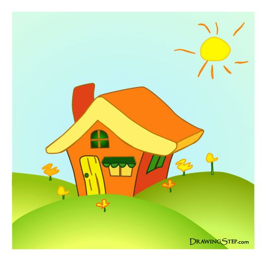 Adventures In Avarice Cartoon House House Drawing For Kids House Cartoon