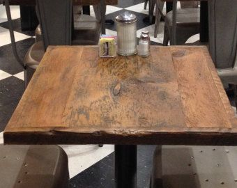 Dining Table Reclaimed Wood Pub Table Bistro By FreshRestorations