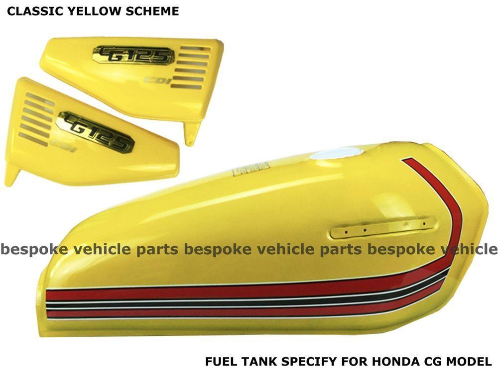 Honda Cg125 Tank Decals