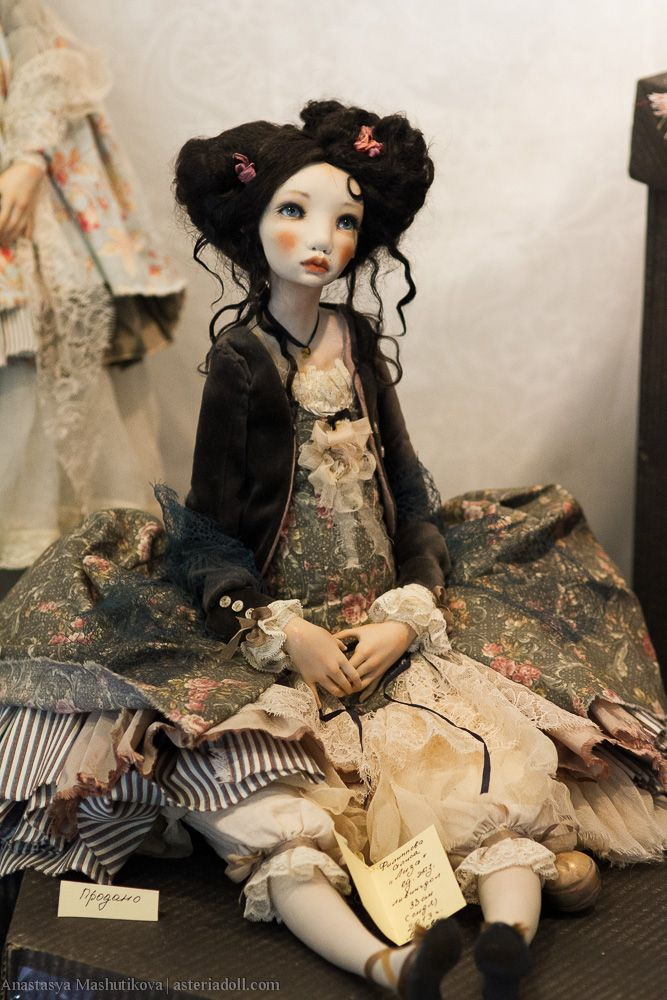 Asteria Art - Весенний бал. Международный салон авторских кукол на Ветошном.