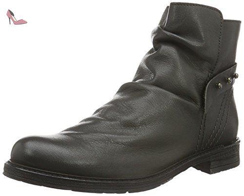 Buffalo ES 30758 Mestico, Chelsea Boots Femme, Noir (Preto 01), 38 EU