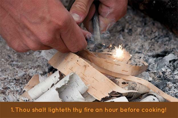Photo of The 10 Commandments When Campfire Cooking | Survival Life