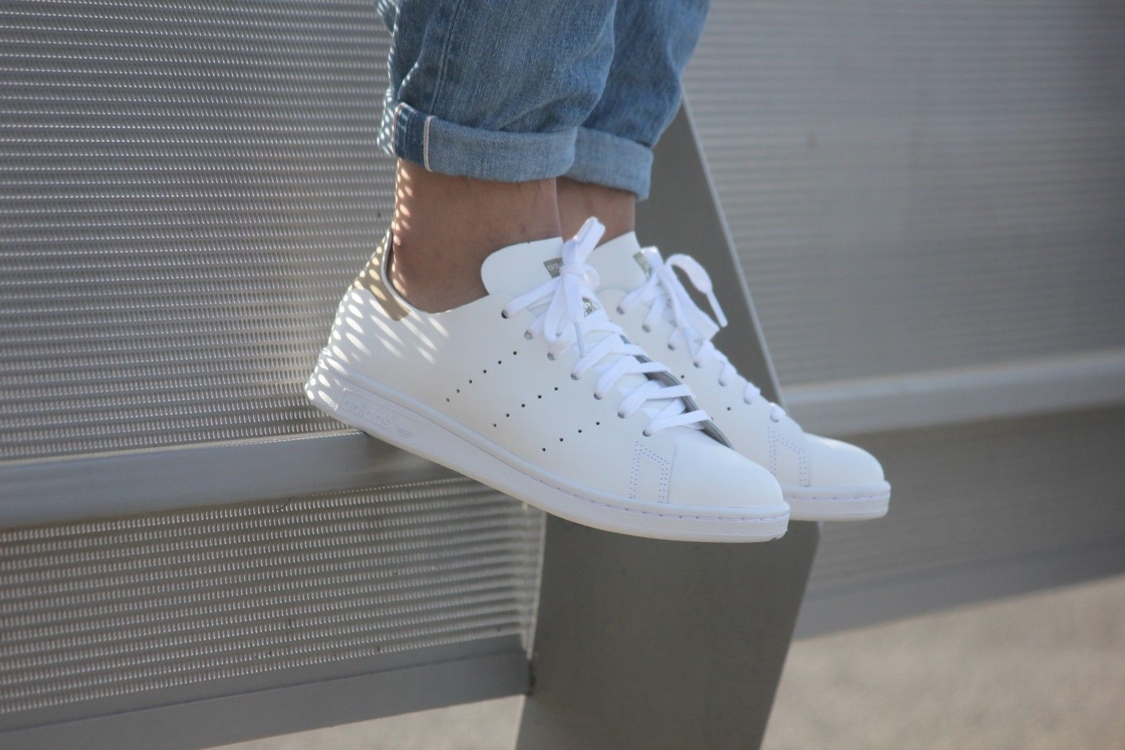 big sale af9b9 d1f4c Adidas Stan Smith Deconstructed White White - S75281