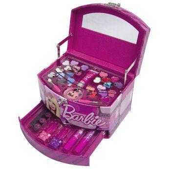 Barbie Makeup Set - Mugeek Vidalondon  |Barbie Makeup Kit For Kids