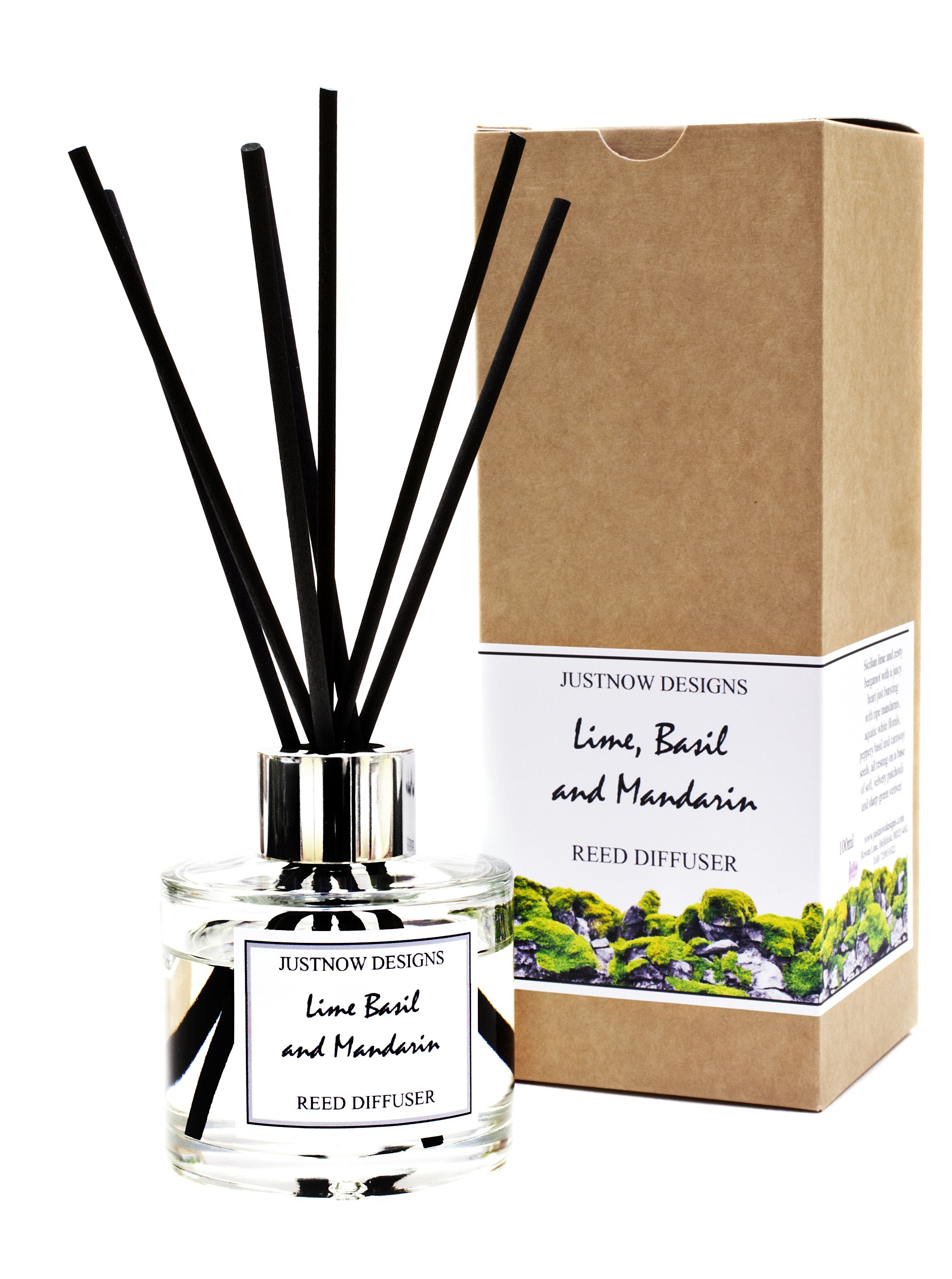 Lime And Mango Reed Diffuser With Reeds Reed Diffuser Lime And Basil Diffuser