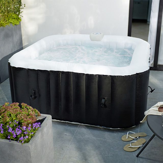 spa carr gonflable 3 4 places castorama spa et piscines pinterest jacuzzi. Black Bedroom Furniture Sets. Home Design Ideas