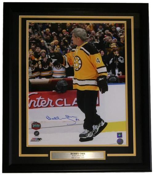 a91e92a59584bd Bobby Orr Signed Framed 16x20 Bruins 2010 Winter Classic Photo GNR ...