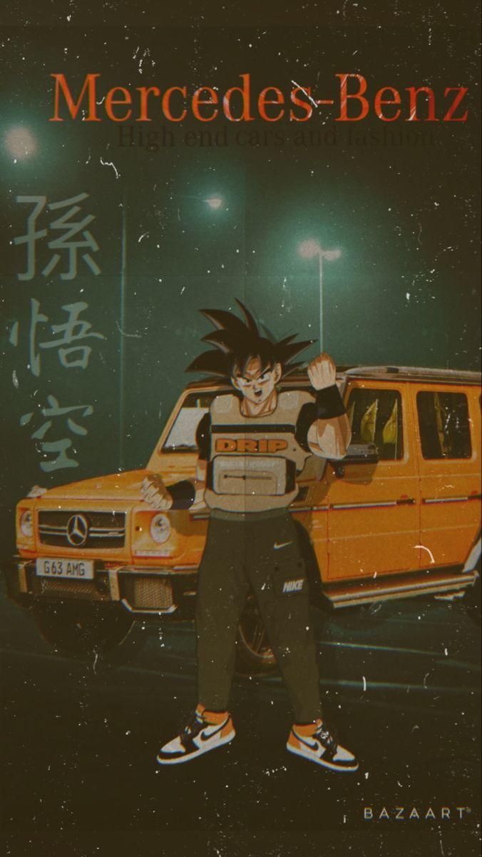 Goku Drip Wallpaper Family Figurine High End Cars Goku