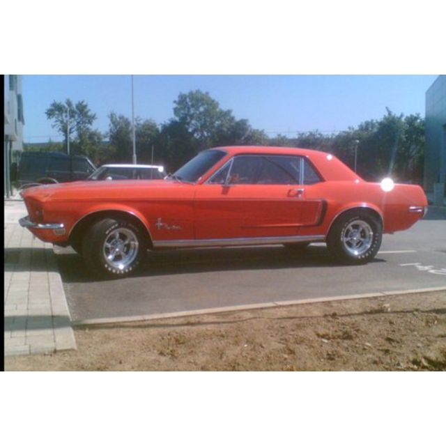 1967 Cherry Red Mustang Convertible