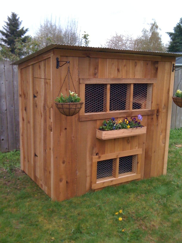 45 Cute Playhouse Chicken Coop Inspiration   Chicken coop ...
