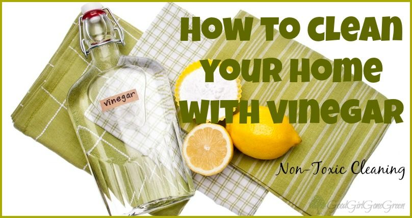 7 Diy Cleaning Recipes Using Vinegar Good Girl Gone