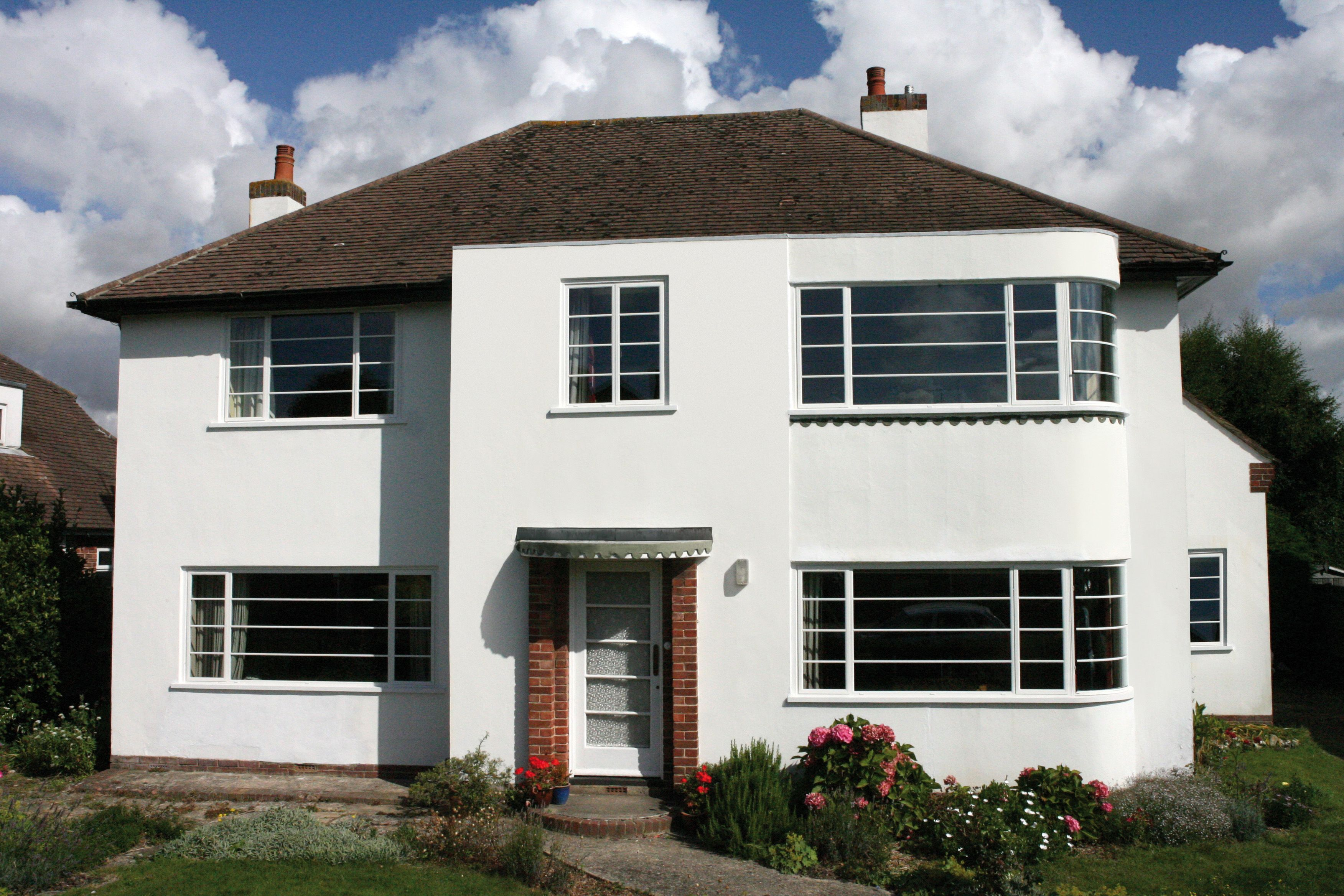 Curved on plan double glazed steel windows are a speciality of ...