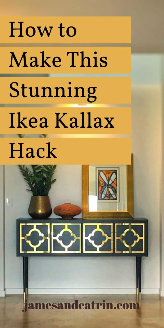 The Ikea Hack Behind This Stunning Kallax Sideboard With
