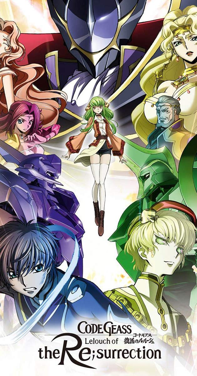 Code Geass: Lelouch of the Re;Surrection (2019) - IMDb