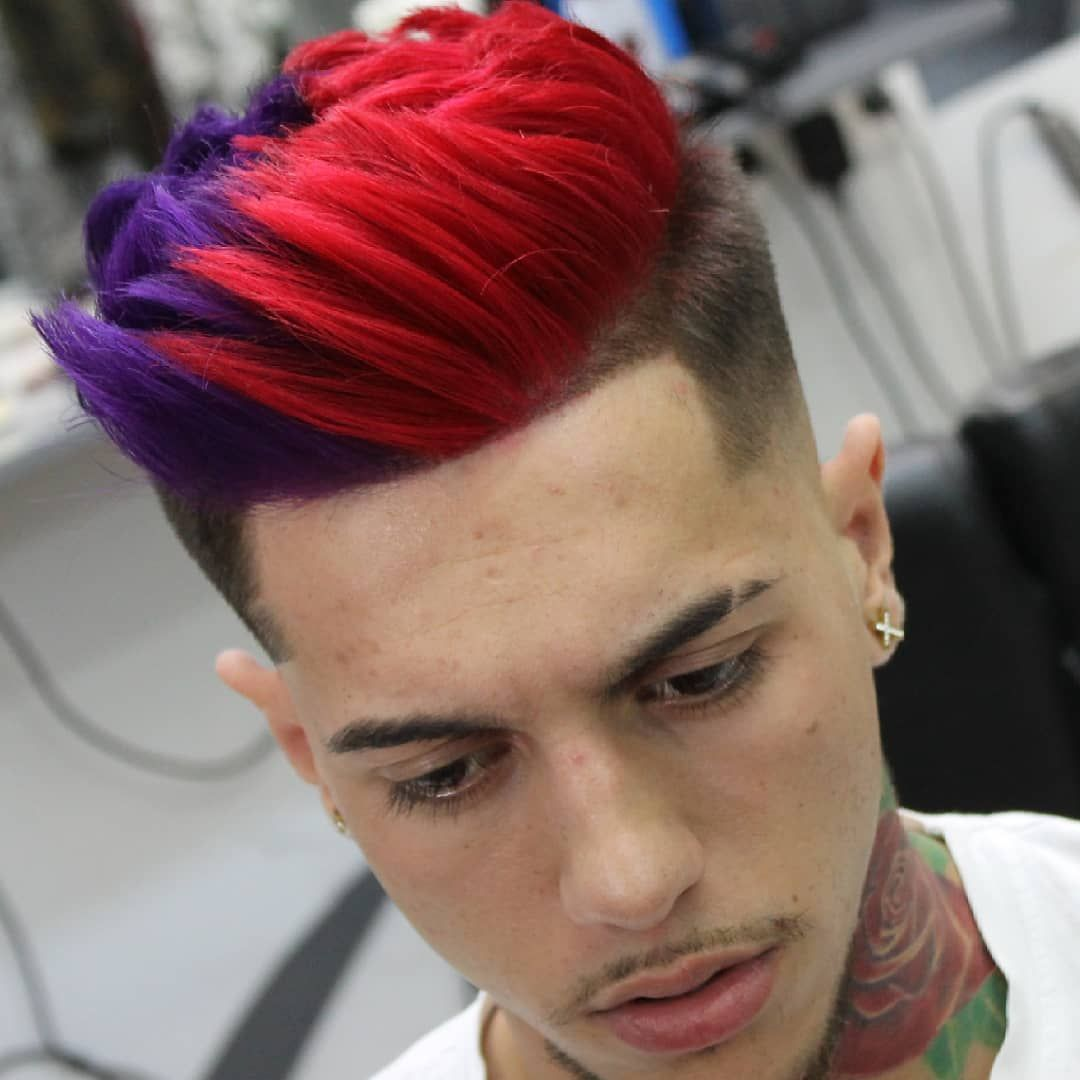 top sign of men's latest hair