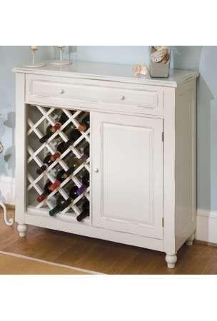 Raised Panel White Wine Bar Cabinet Wood | Angoli Bar | Pinterest ...