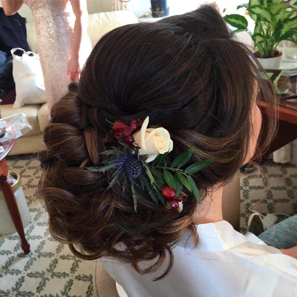 Pin By Weddings By Crystal On Wedding Bridal Hair Beautiful Wedding Hair Bridal Hair And Makeup Bridal Hair