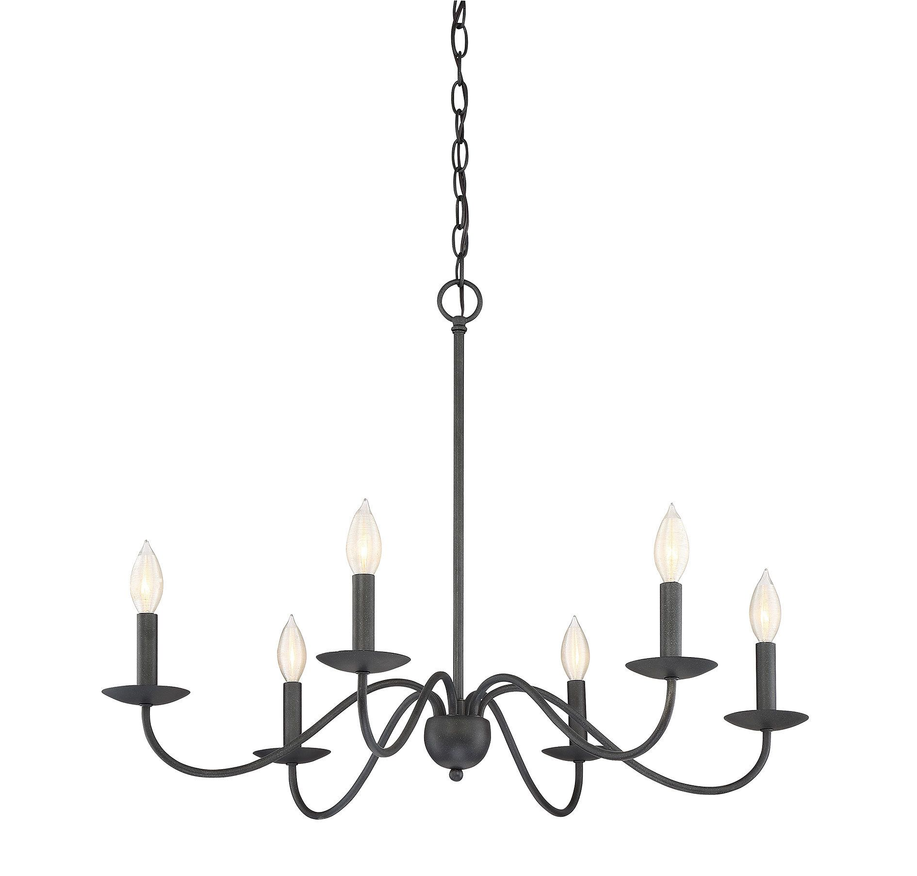 Edgell 5 Light Candle Style Classic Traditional Chandelier