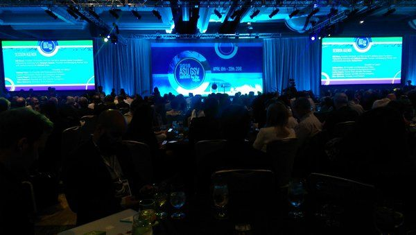 """Packed house at #asugsvsummit #globalsiliconvalley for @BillGates. ASU Pres calls him a """"transformative American."""" - Twitter Search"""