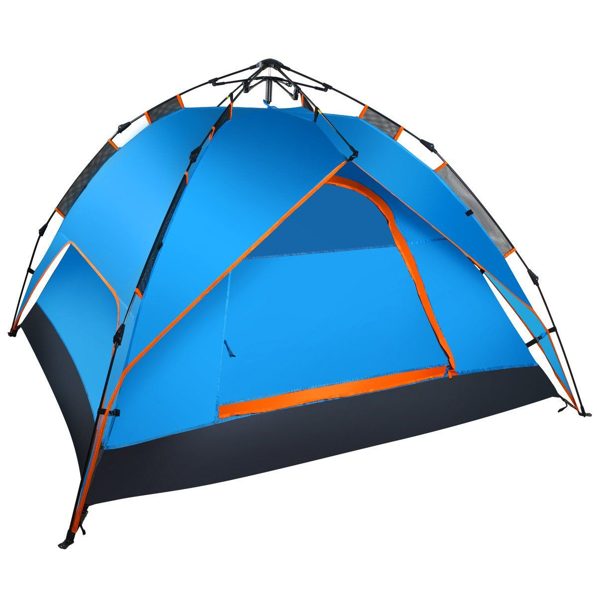 Leapair 2-3 Person Pop Up Hydraulic Pressure Automatic Tent  sc 1 st  Pinterest & WolfWise 2 Person Backpacking Tent | Tents Rain fly and Tent stakes