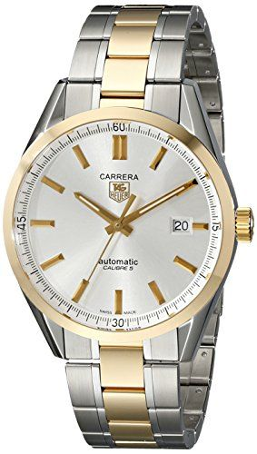 0730bce881e TAG Heuer Men s WV215D.BD0788 Carrera Analog Display Swiss Automatic Silver  Watch