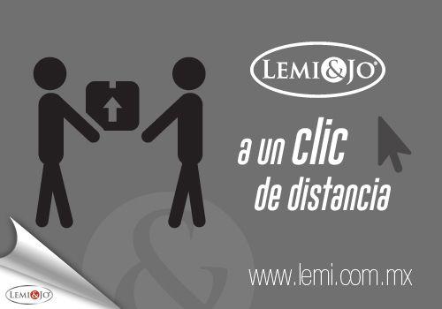 A partir de mañana... Lemi&Jo estará más cerca de ti. Con nuestra #tienda virtual podrás adquirir nuestros productos desde la comodidad de tu casa y elegir el método de pago que prefieras.  Visítanos en www.lemi.com.mx y aprovecha, del 1 al 5 de septiembre, 10% de #descuento para celebrar nuestra inauguración.