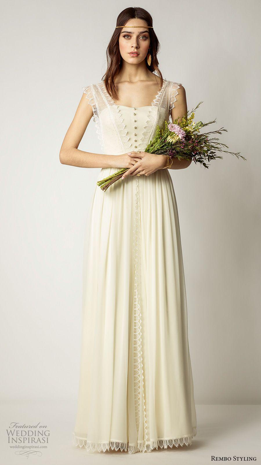 Rembo Styling 16 Wedding Dresses  Chiffon hochzeitskleid, Kleid
